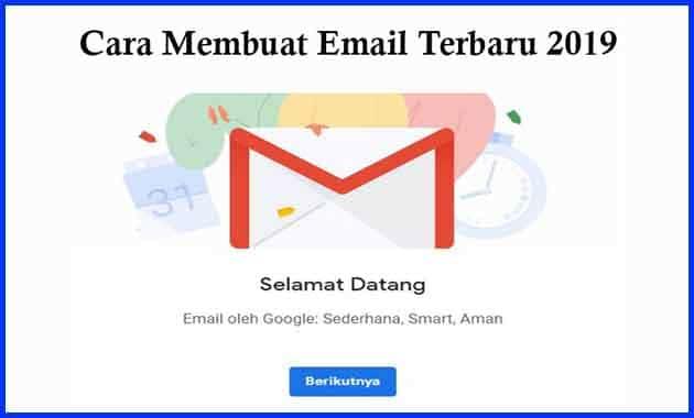 Cara Membuat Email Terbaru 2019