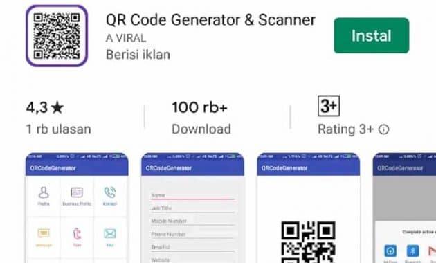 Cara membuat QR Code Terbaru 2019