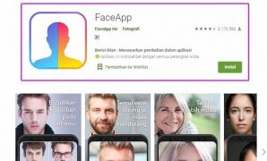 Aplikasi wajah tua faceapp FULL APK