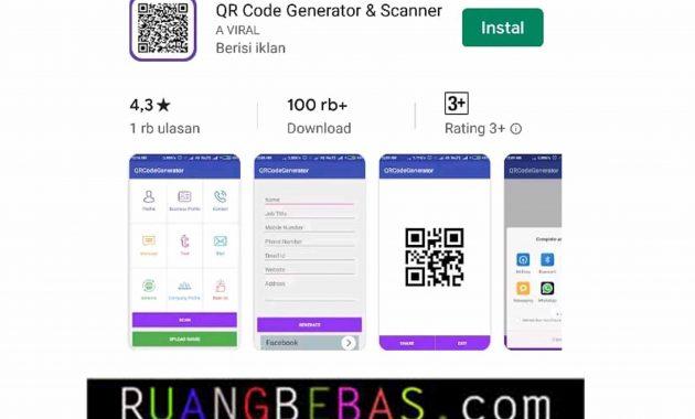 Aplikasi QR Code HOT Terbaik 2019