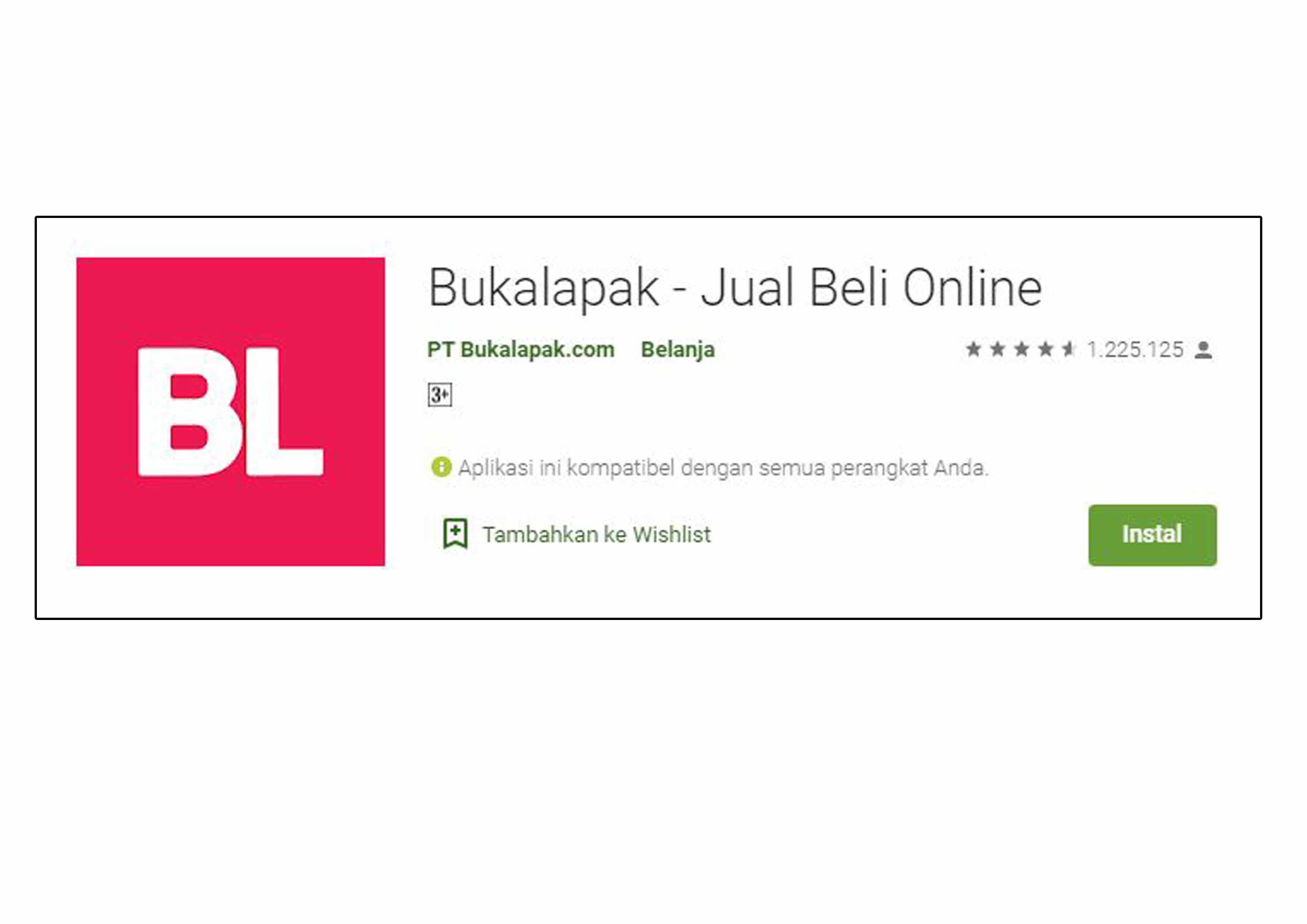Aplikasi Bukalapak Playstore Full Apk 2019