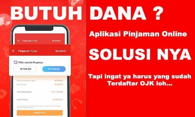 3 Aplikasi Pinjaman Online Yang Terdaftar Di Ojk Ruangbebas