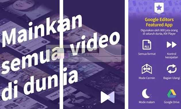 Aplikasi pemutar video android