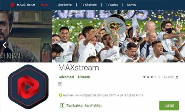 Aplikasi Streaming Bola Gratis Android